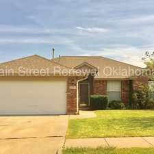 Rental info for Updated OKC Home in the Mayfield area