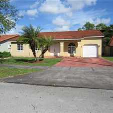 Rental info for Beautiful renovated 4 bed 2 bath single family home with 1 car attached garage located in Miami! in the Richmond West area