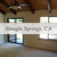 Rental info for This Spacious 2 Bed 2 Bath Town Home In Cameron... in the Cameron Park area