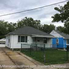 Rental info for 12614 Lena Avenue in the Cleveland area