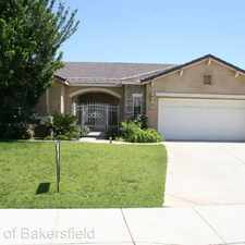 Rental info for 11917 Roaring River Ave in the Bakersfield area