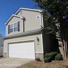 Rental info for 9028 Meadowmont View Drive