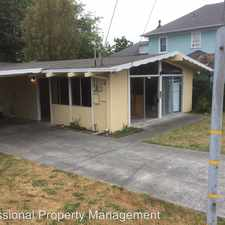 Rental info for 1314 Williams Street in the Eureka area