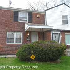 Rental info for 2011 Ewald Circle in the Durfee area