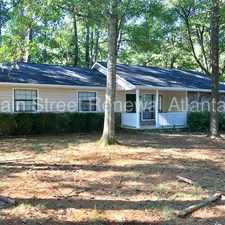 Rental info for Lovely Ranch in Lithonia! 6298 Cathedral Ln