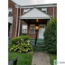 Rental info for Beatiful Renovated Home in Loch Raven in the Mount Pleasant Park area