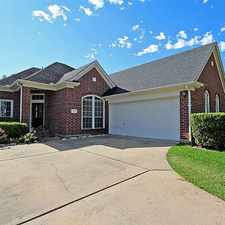 Rental info for 3518 Glenhill Drive in the Houston area