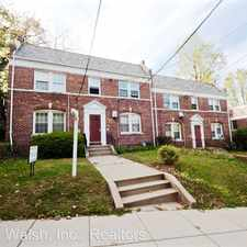 Rental info for 2606 41st St NW 4 in the Glover Park area