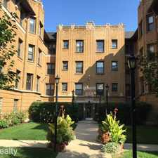 Rental info for 7715 N Hermitage #1A in the Evanston area