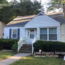 Rental info for 3861 217th St in the Matteson area