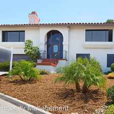 Rental info for 6189 Caminito Sacate in the San Carlos area