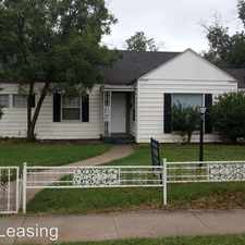 Rental info for 2113 30th Street in the Lubbock area
