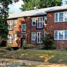Rental info for 7201 Tulane Ave 1-E in the University City area