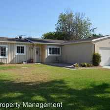 Rental info for 2641 W. Hill Street in the 92833 area