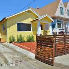 Rental info for 1827 Chestnut in the Oakland area