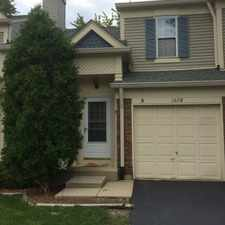 Rental info for Westmont Townhouse in the 60561 area