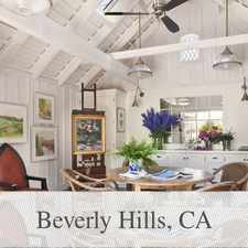 Rental info for A Sophisticated Private Retreat In The Heart Of. in the Los Angeles area