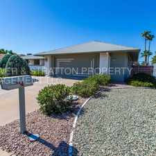 Rental info for 21020 N. Palm Desert Dr.- Immaculate 3 Bed 2 Bath In Sun City West! - Stardust/Palm Desert Dr. Lots of Upgrades! Large Yard! Call Now! in the Sun City West area