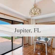 Rental info for Elegant Mediterranean Home With Expansive South... in the Jupiter area