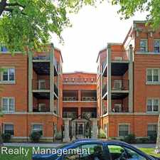 Rental info for 6922 24 N. Greenview Ave.
