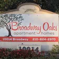 Rental info for Broadway Oaks Apartment Homes in the San Antonio area