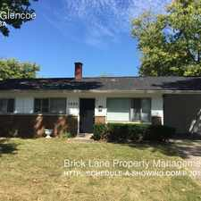Rental info for 5602 Glencoe in the Indianapolis area