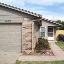 Rental info for Duplex For RENT In NW OKC Area in the Eagle Lake Estates area