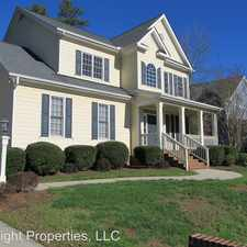 Rental info for 5104 Dove Forest lane in the Fuquay-Varina area