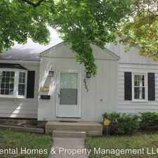 Rental info for 2301 Hills Street in the Flint area