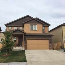 Rental info for 6244 Wood Bison Trail in the Fountain area