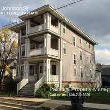 Rental info for 753 E Johnson St in the Madison area