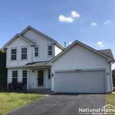 Rental info for 14053 S Hartland Drive in the Romeoville area