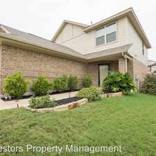 Rental info for 4220 Creede Dr in the Southeast Austin area