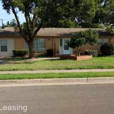 Rental info for 3808 35th Street in the Lubbock area