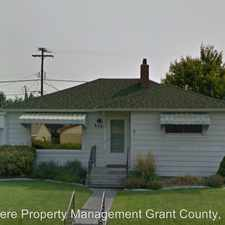 Rental info for 839 Hawthorne in the Moses Lake area