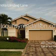 Rental info for 3245 Magnolia Landing Lane in the North Fort Myers area