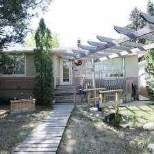 Rental info for 8549 83 Avenue Northwest #Main level in the Bonnie Doon area