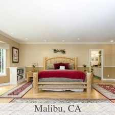 Rental info for The Best Of The Best In The City Of Malibu! Sav...