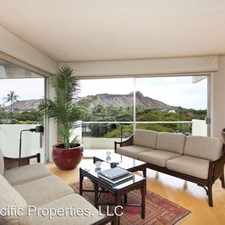 Rental info for 240 Makee Road #5D in the Honolulu area