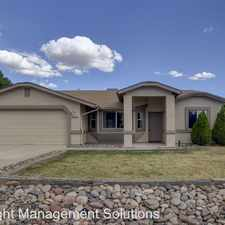 Rental info for 4901 N. Reavis Drive in the Prescott Valley area