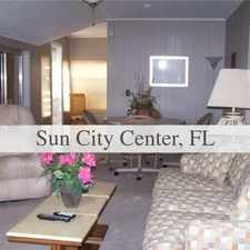 Rental info for 2 Bedrooms - Come And See This One. in the Sun City Center area