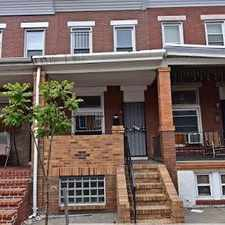 Rental info for 314 N Robinson St, Baltimore, MD in the Elwood Park area