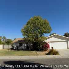 Rental info for 1125 Palomino Ave in the Yuma area