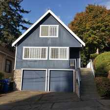 Rental info for 4131 41st Ave South in the Columbia City area