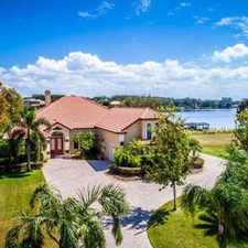 Rental info for Custom Lakefront Home For Sale