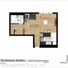 Rental info for 5534 N. Kenmore Avenue
