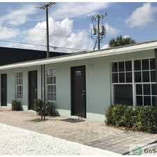 Rental info for COZY ONE BEDROOM ONE BATH APARTMENT HOUSE LAUNDRY ONSITE in the Lake Worth area
