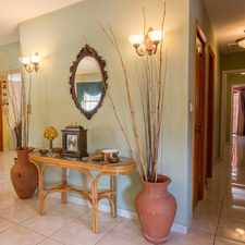 Rental info for Miami Lakes Immaculately kept 4 bed/2 bath pool home, tiled throughout, accordion shutters, no detail spared!