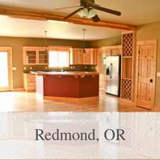 Rental info for Beautiful Home On 10 Acres in the Redmond area
