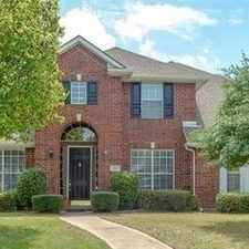 Rental info for House For Rent In Plano. Will Consider! in the 75094 area
